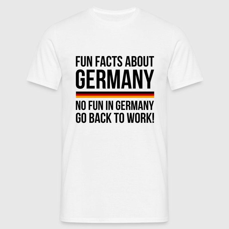 Germany Fun Facts - Men's T-Shirt