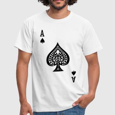 Ace Of Spades Ace of Spades by Casual Pirate - Men's T-Shirt