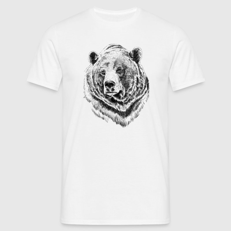 bear - T-shirt herr