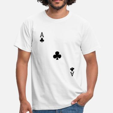 Clubs Ace of Clubs - Men's T-Shirt