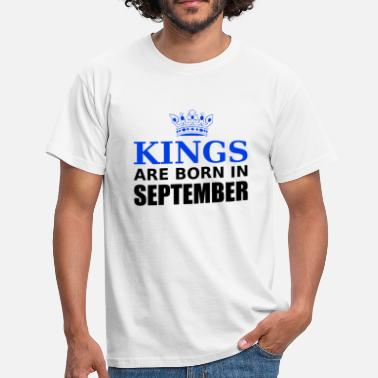 June kings are born in september - Herre-T-shirt