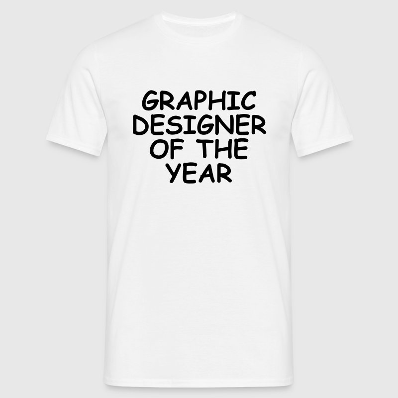 Graphic Designer Of The Year - Männer T-Shirt