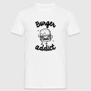 Burger Addict - T-shirt herr