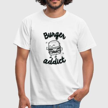 Burger Addict - Männer T-Shirt