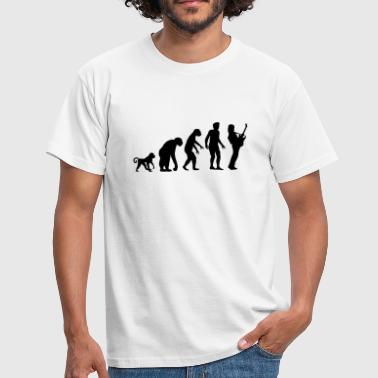 Neandertaler evolution_rock - Männer T-Shirt
