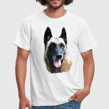 Chien malinois - T-shirt Homme