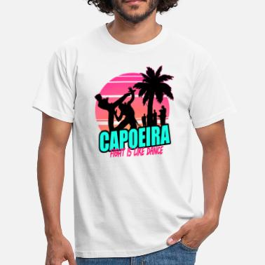 Capoeira 80's (for white) - Männer T-Shirt