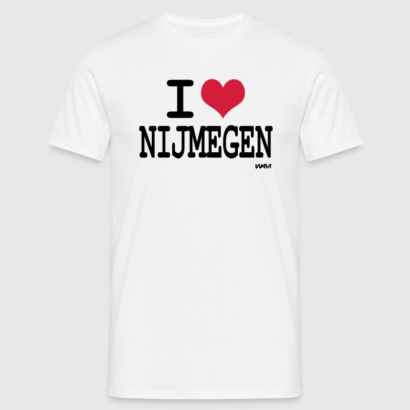 i love nijmegen by wam - Mannen T-shirt