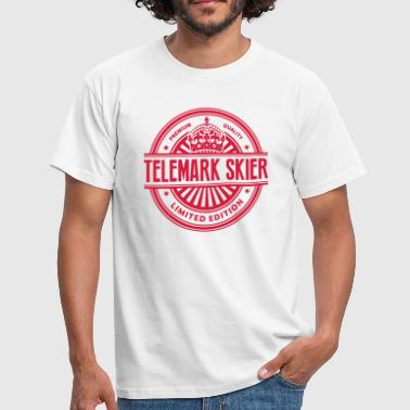 Limited edition telemark skier premium q - Men's T-Shirt