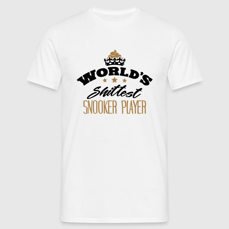 worlds shittest snooker player - Men's T-Shirt