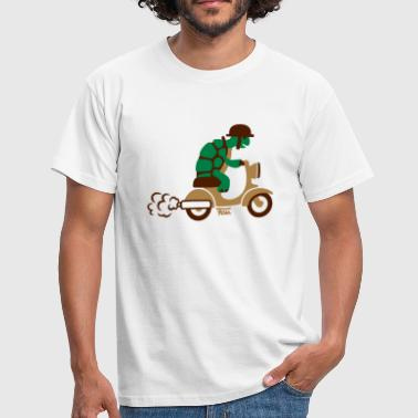 Turle Moped - colored - Men's T-Shirt