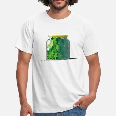 Nature Collection verre sapin - T-shirt Homme