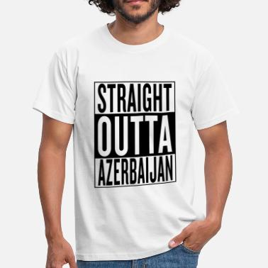 Grafitti Country Azerbaijan - T-shirt Homme