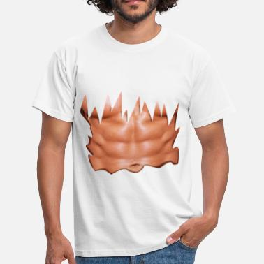 Abs torn shirt sixpack - Men's T-Shirt