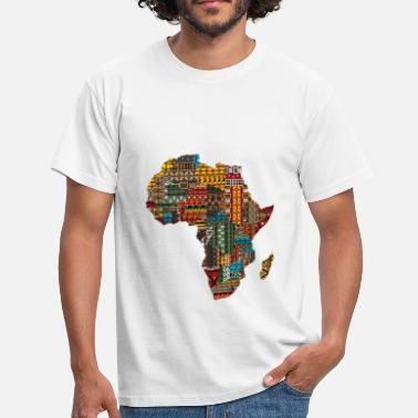 Afro African Pride - Mannen T-shirt