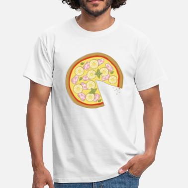 Apparition The Missing Pizza Hawaii - Couple amoureux apparié - T-shirt Homme