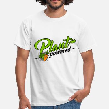 Plant Milk Vegan - Plant Powered - Men's T-Shirt