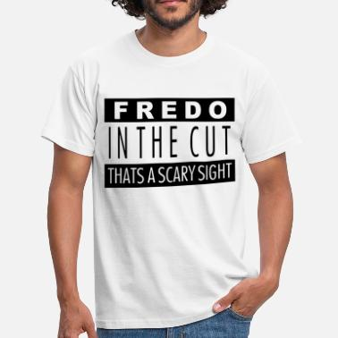 Chief Keef Fredo in the cut that's a scary sight - Men's T-Shirt