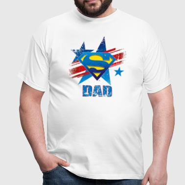 Superman 'S-Shield Dad' Men T-Shirt - Miesten t-paita