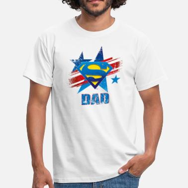 Dad Superman Superman 'S-Shield Dad' Men T-Shirt - Mannen T-shirt