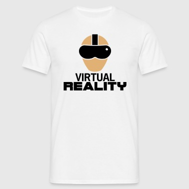 Virtual Reality (Glasses) - Men's T-Shirt