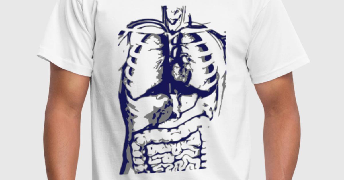 Anatomie / menschlicher Körper / Organe von ElectroNoize | Spreadshirt
