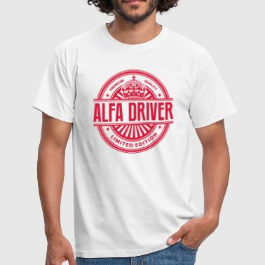 Limited edition alfa driver premium qual - Men's T-Shirt