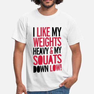 Squat Squat - Men's T-Shirt