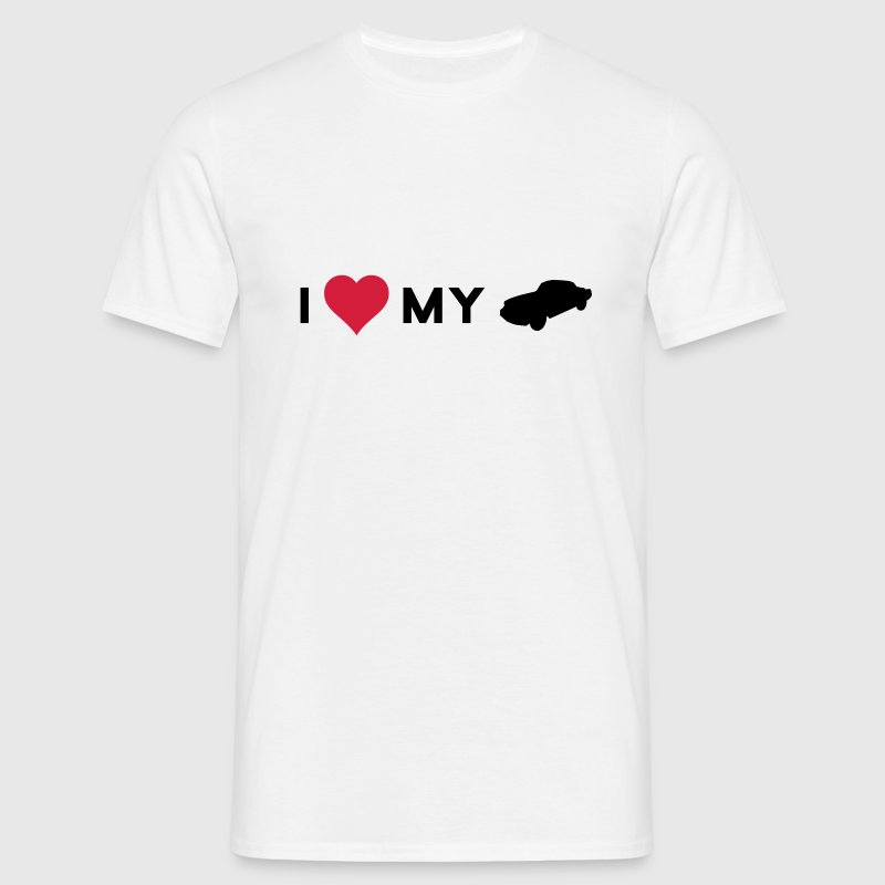 i love my car - Men's T-Shirt