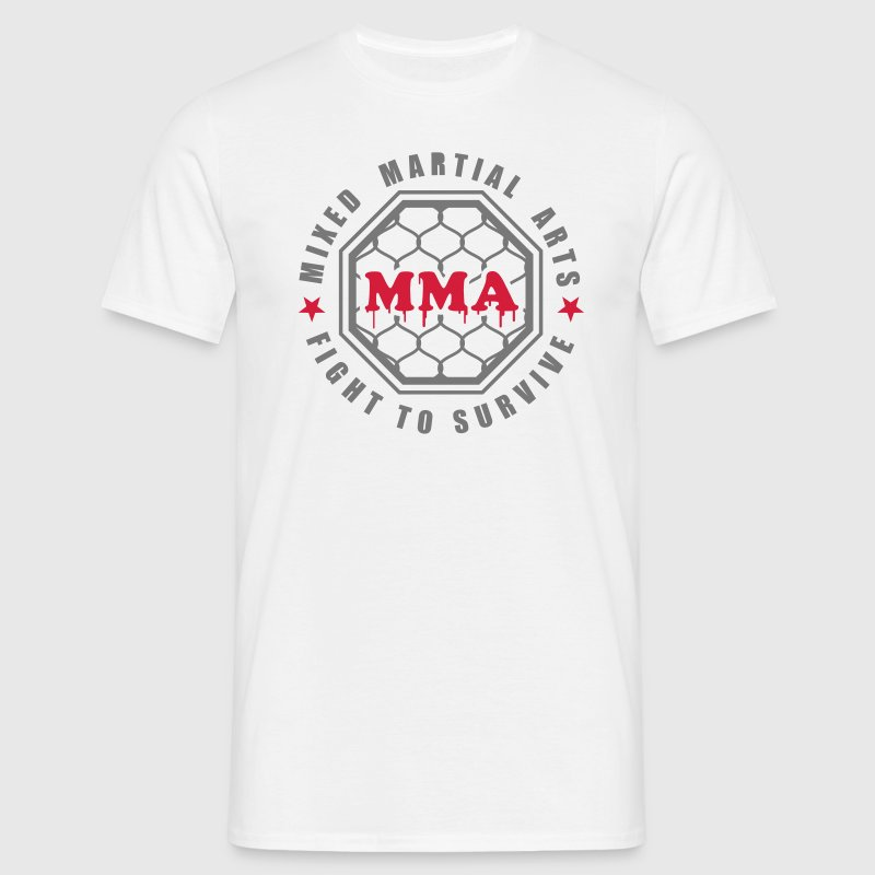 MMA - Mixed Martial Arts - Fight to survive - Männer T-Shirt