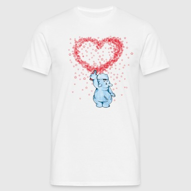 I love Hippos - T-shirt Homme