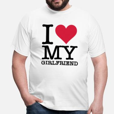 I Love New York Amo a mi novia - Camiseta hombre