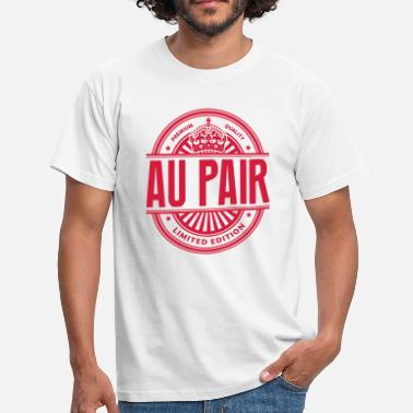 Au Pair Limited edition au pair premium quality - Men's T-Shirt
