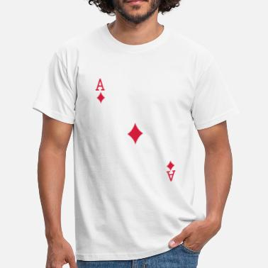Diamonds Ace of Diamonds - Men's T-Shirt