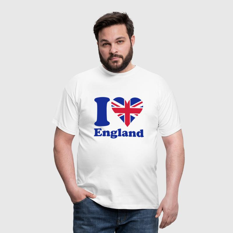 I love England - Men's T-Shirt