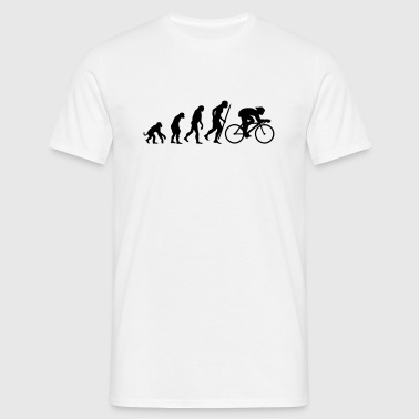 Evolution of cycling - Men's T-Shirt