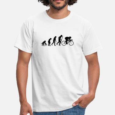 Cycle Evolution of cycling - Men's T-Shirt
