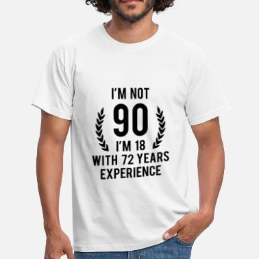 Old 90 Years Old - Men's T-Shirt
