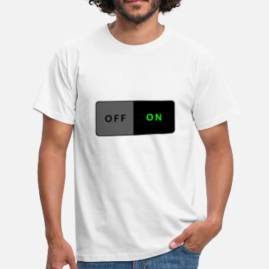 Light Switch Switch ON - Men's T-Shirt