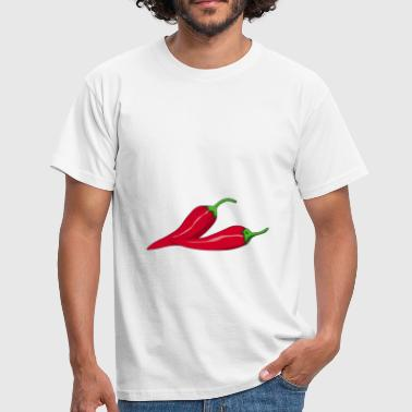 Chaud chaud piment chaud chaud rouge sexy - T-shirt Homme