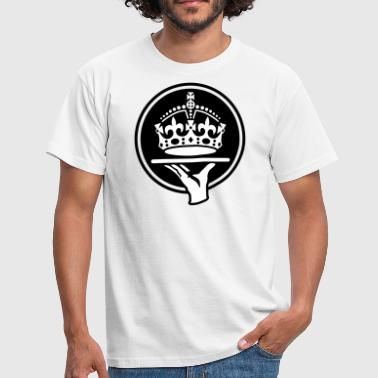 Keep Calm Crown Service - Men's T-Shirt