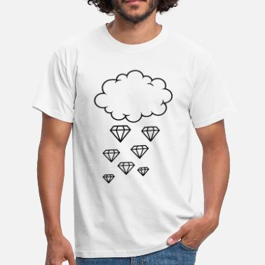 Diamond Supply Diamond rain - T-shirt Homme
