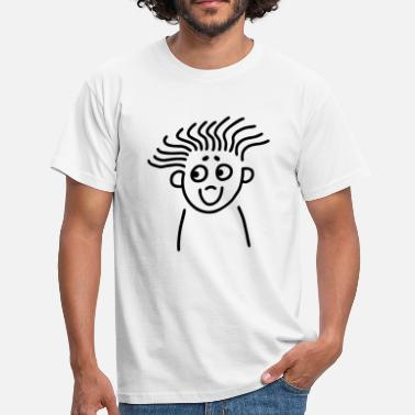 Super Shy Super hairstyle - Men's T-Shirt