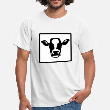 Cow Head cow head - Men's T-Shirt