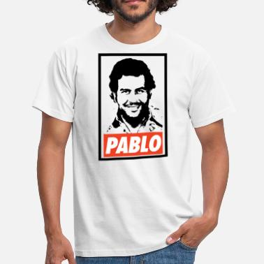 Pablo Pablo Escobar Obey - Narcos - Herre-T-shirt
