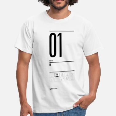 Aperture Science TEST 01 - Men's T-Shirt