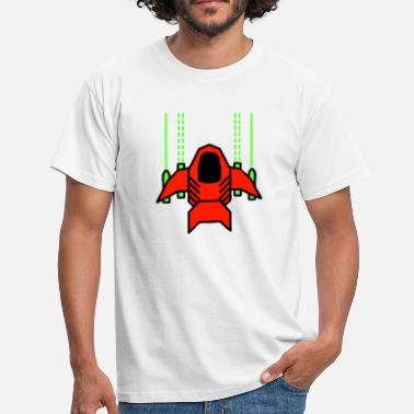 Spaceship Pixel Spaceship Shooter - Camiseta hombre
