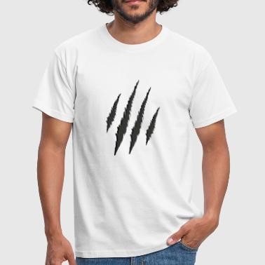 Claw Marks tiger stripes tiger cat marks claws gift - Men's T-Shirt