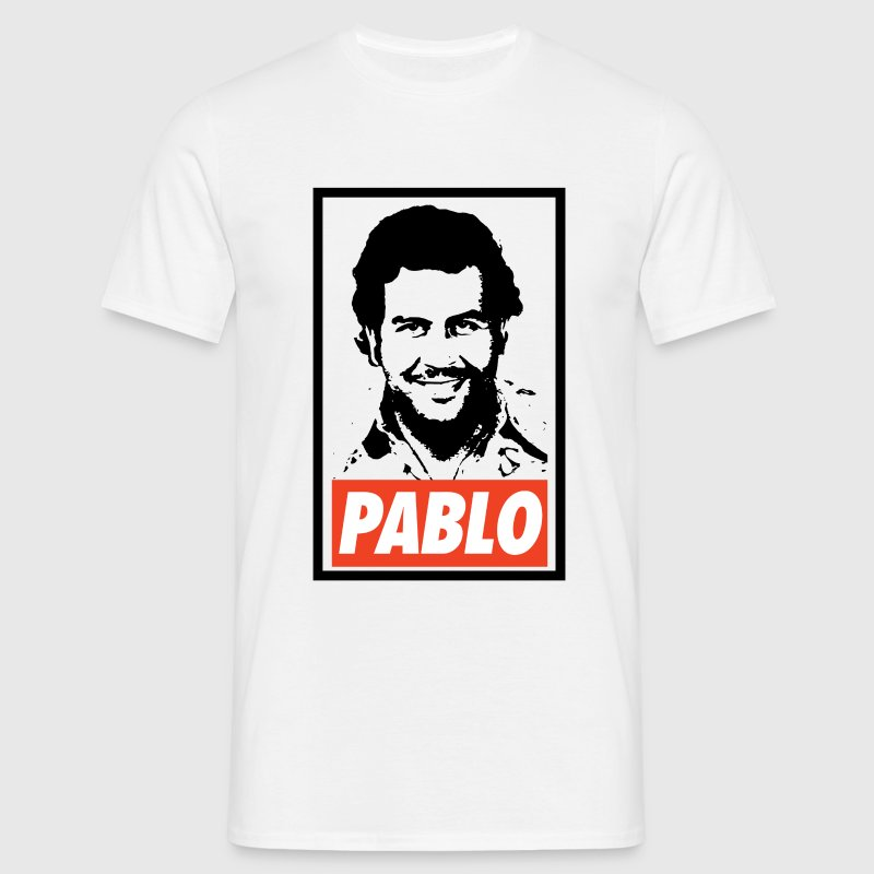 Pablo Escobar Obey - Narcos - Mannen T-shirt
