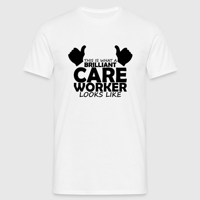 brilliant care worker - Men's T-Shirt